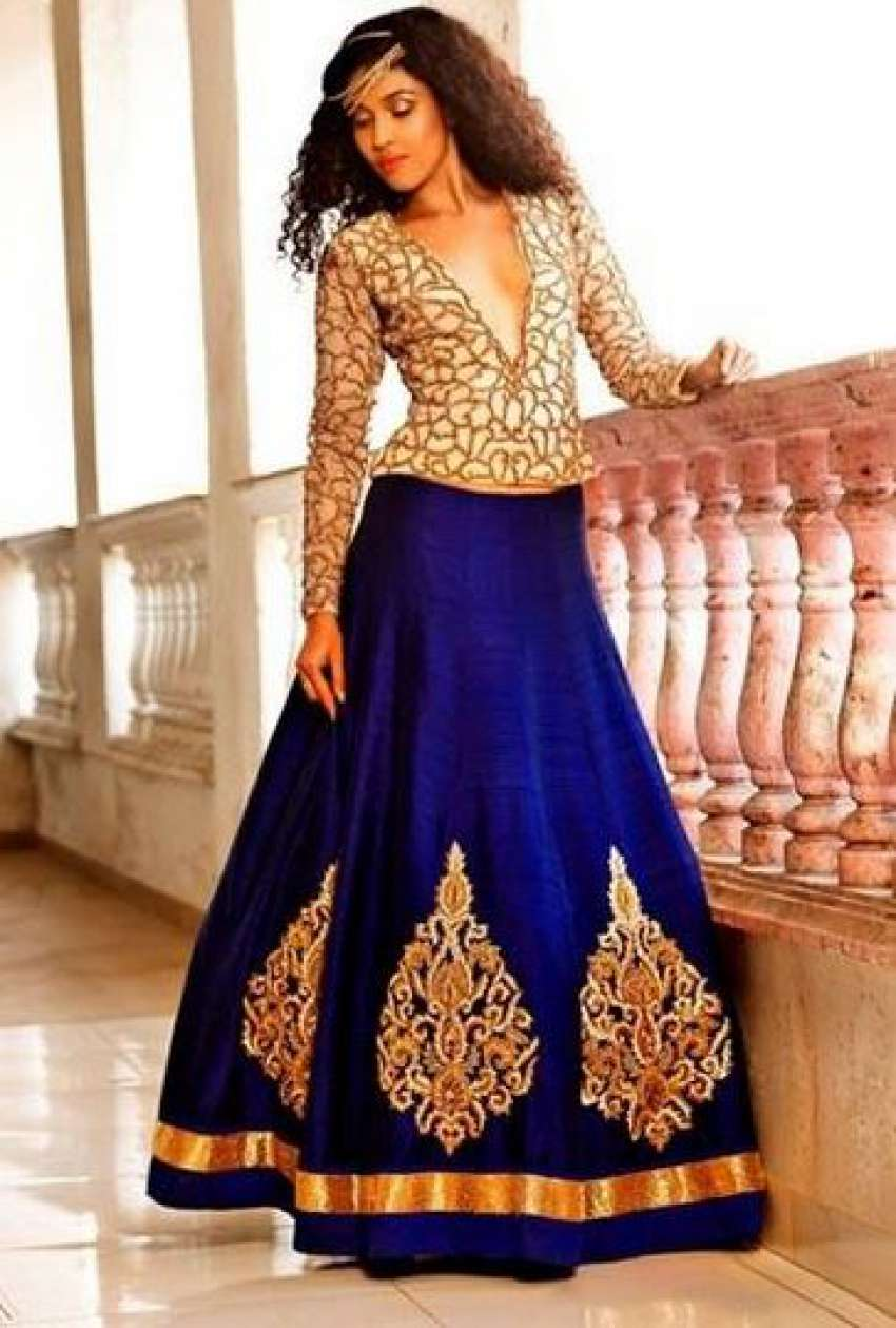 Lengha choli fashion dress 58