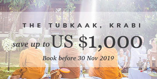 The Tubkaak Krabi Boutique Resort - Save up to $1,000, book before 30 Nov 2019