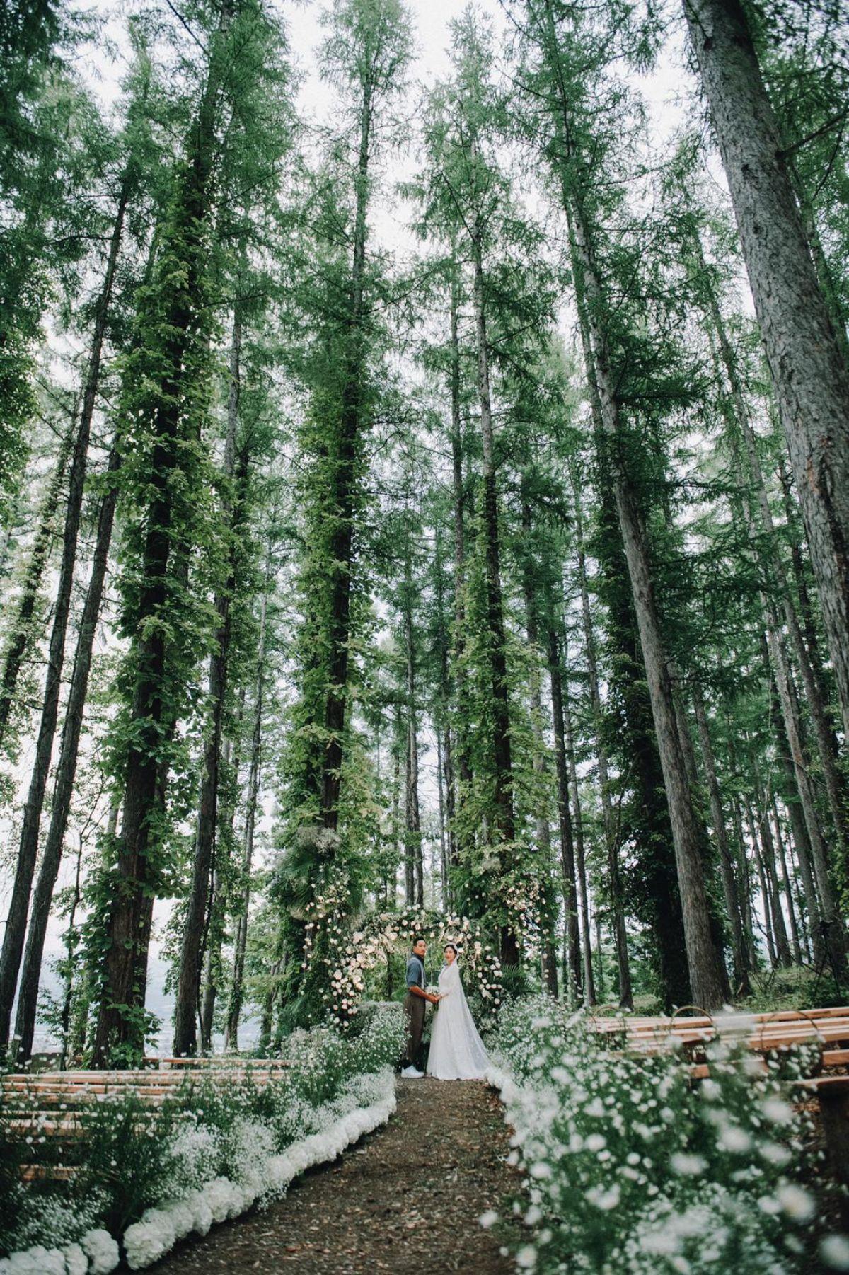 Hokkaido outdoor wedding