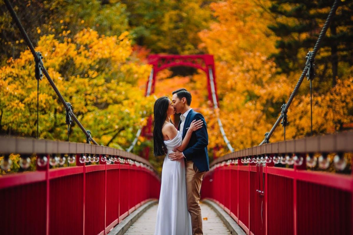 Futami suspension bridge
