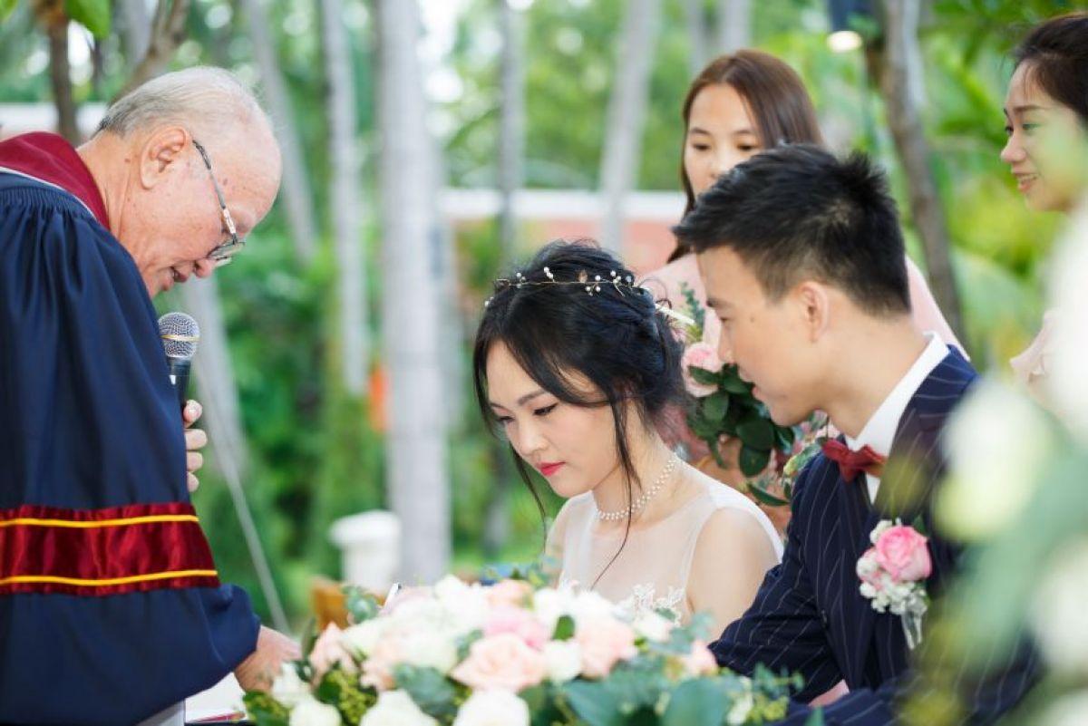 Wedding at SANTIBURI KOH SAMUI