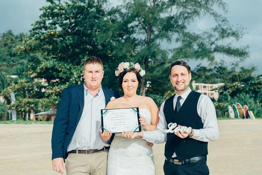 Phuket Wedding Celebrant and Master of Ceremonies