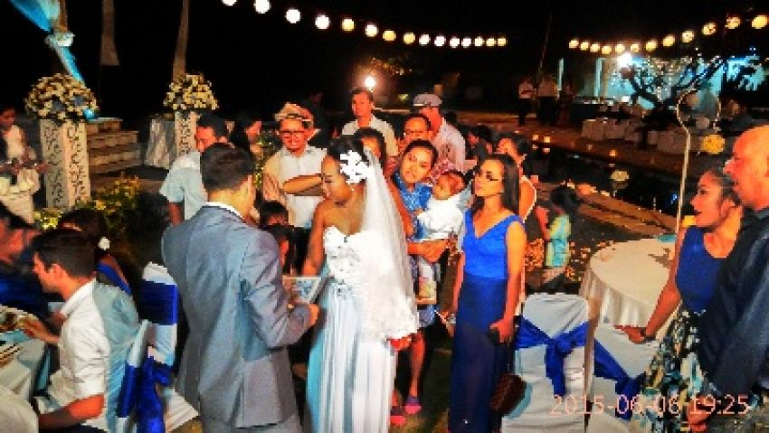 Vanessa Bali Wedding