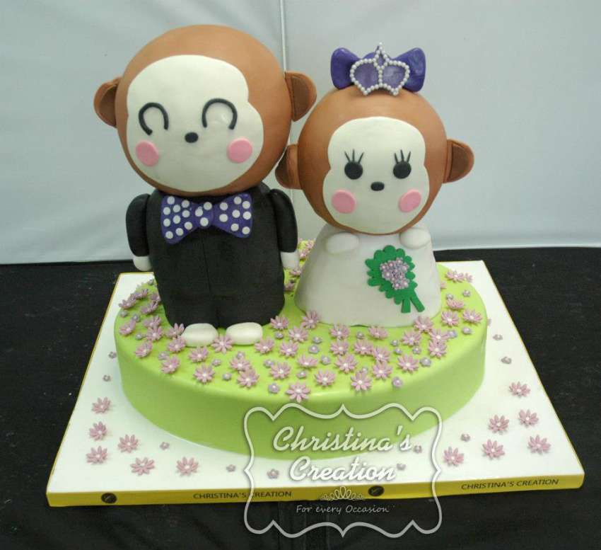 Christinas Creation Cake Shop Wedding Cakes Hong Kong Hitchbird
