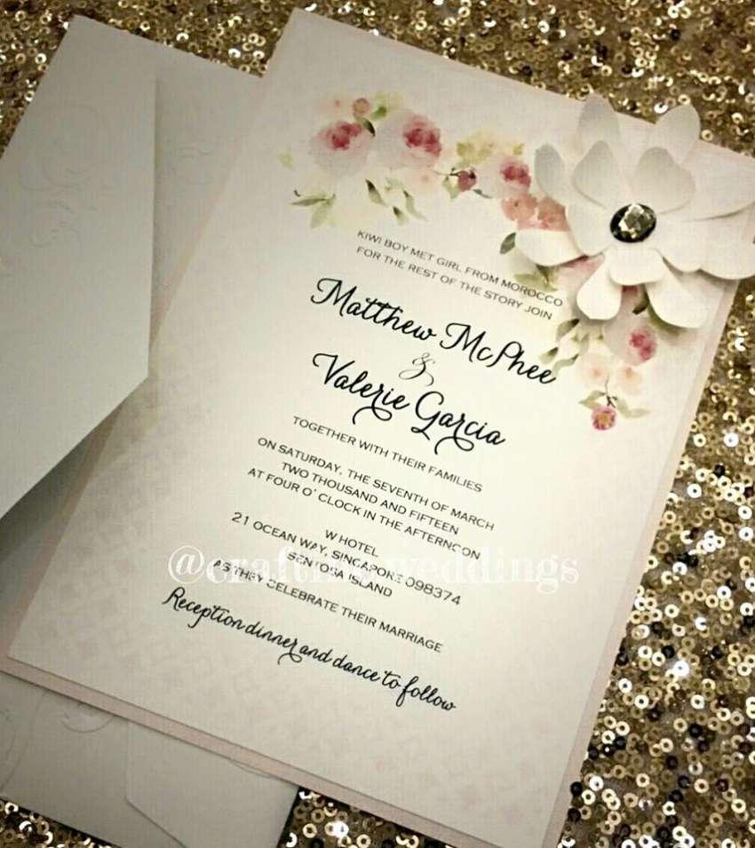 Craft Inc.   Wedding invitations & stationery Singapore   Hitchbird
