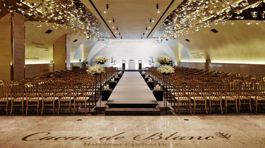 Wedding venues in busan korea hitchbird haeundae centum hotel junglespirit Image collections