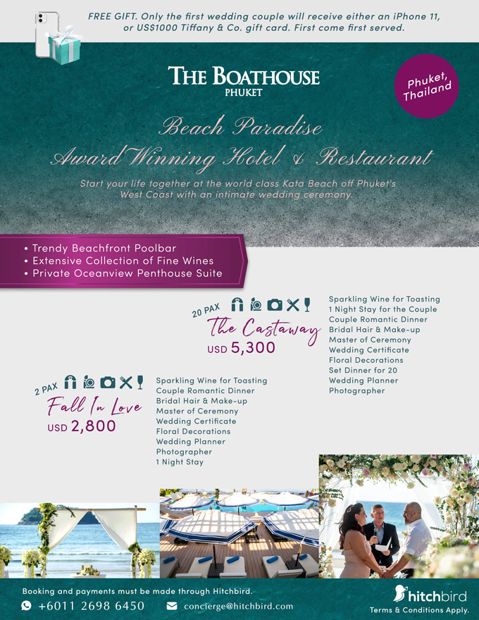 Click to enquire now, The Boathouse Phuket by HPL