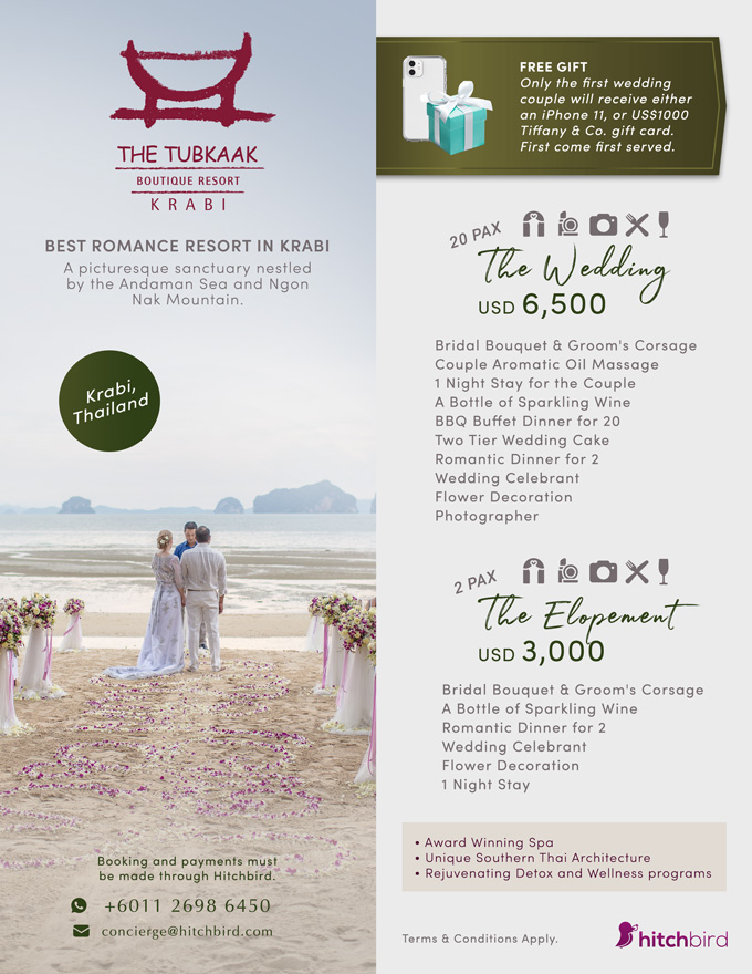Click to enquire now, The Tubkaak Krabi Boutique Resort