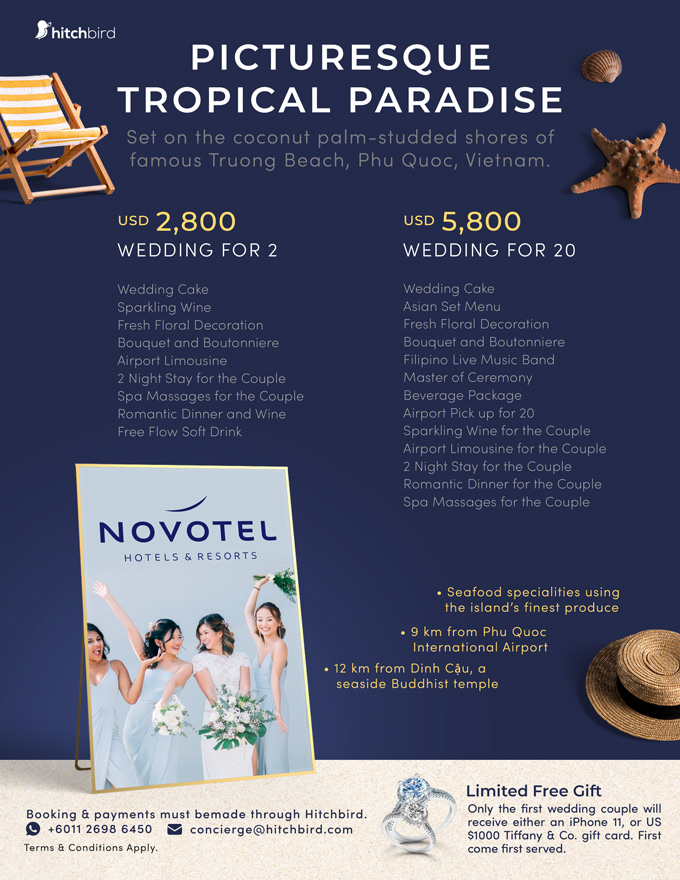Click to enquire now, Novotel Phu Quoc