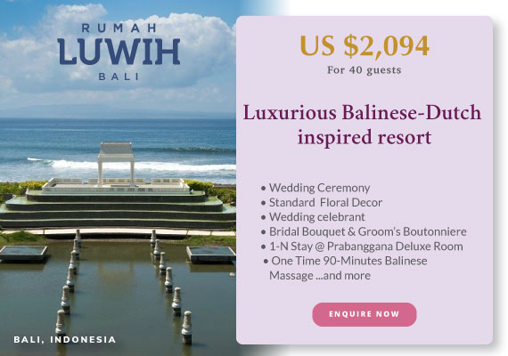 Click to enquire now, Rumah Luwih Beach Resort