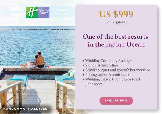 Click to enquire now,  Holiday Inn Resort® Kandooma Maldives