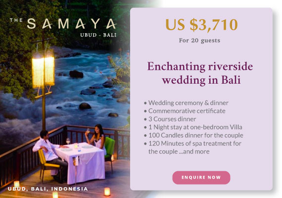 Click to enquire now, The Samaya Ubud, Bali