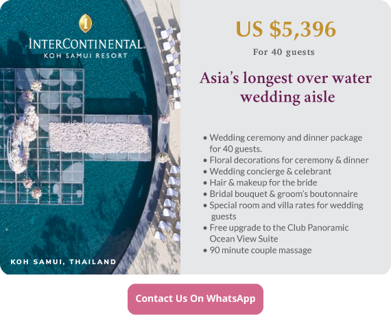 Click to enquire now, InterContinental Koh Samui Resort