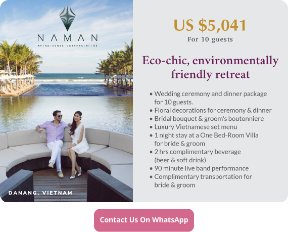 Click to enquire now, Naman Retreat, Danang