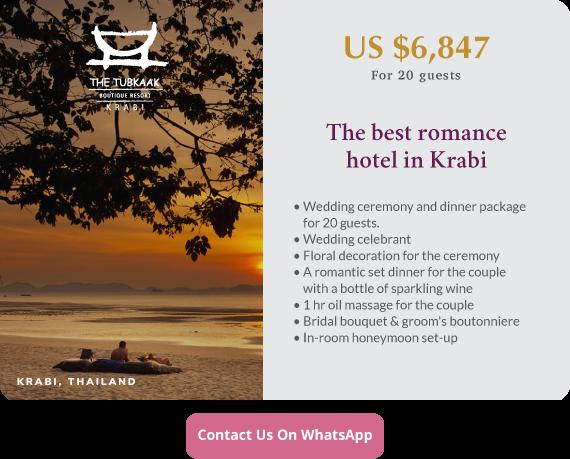 Click to enquire now, The Tubkaak Krabi Boutique Resort