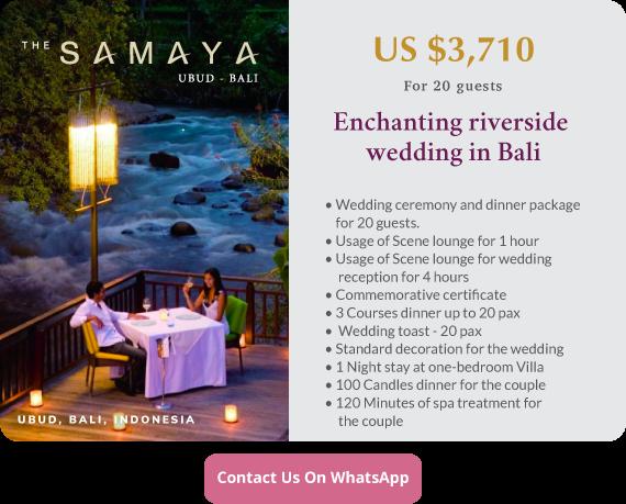 Click to enquire now, The Samaya Ubud, Bali