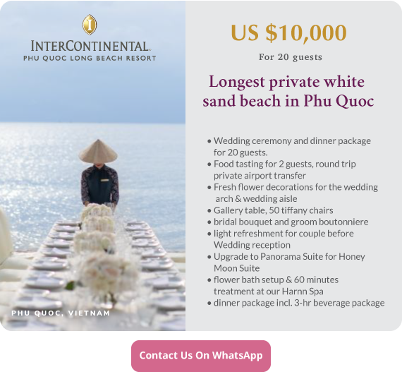 Click to enquire now, Intercontinental Phu Quoc Long Beach Resort